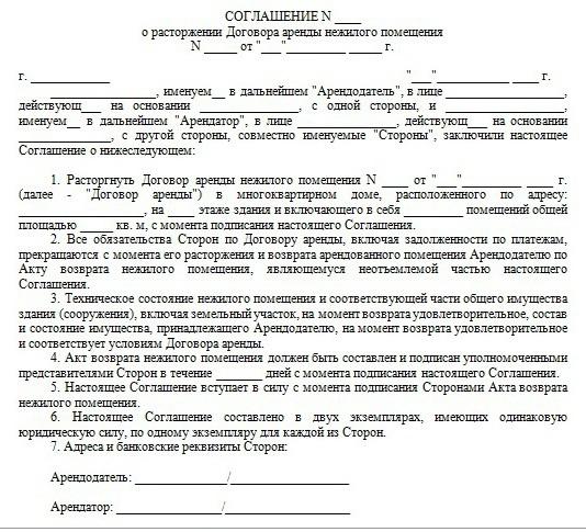 Досрочное расторжении договора на аренду автомобиля купить билеты на поезд москва глазов